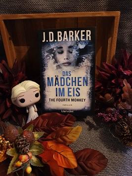 """""""The Fourth Monkey - Das Mädchen im Eis"""" Teil 2 von J.D.Barker"""