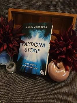 """""""Pandora Stone - Heute beginnt das Ende der Welt"""" 1 von Barry Jonsberg"""
