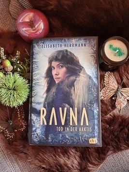 """""""RAVNA - Tod in der Arktis"""" von Elisabeth Herrmann"""
