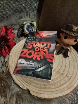 """""""Stadt des Zorns: Ein Escape-Room Thriller (Teil2)"""" von Marc Meller"""