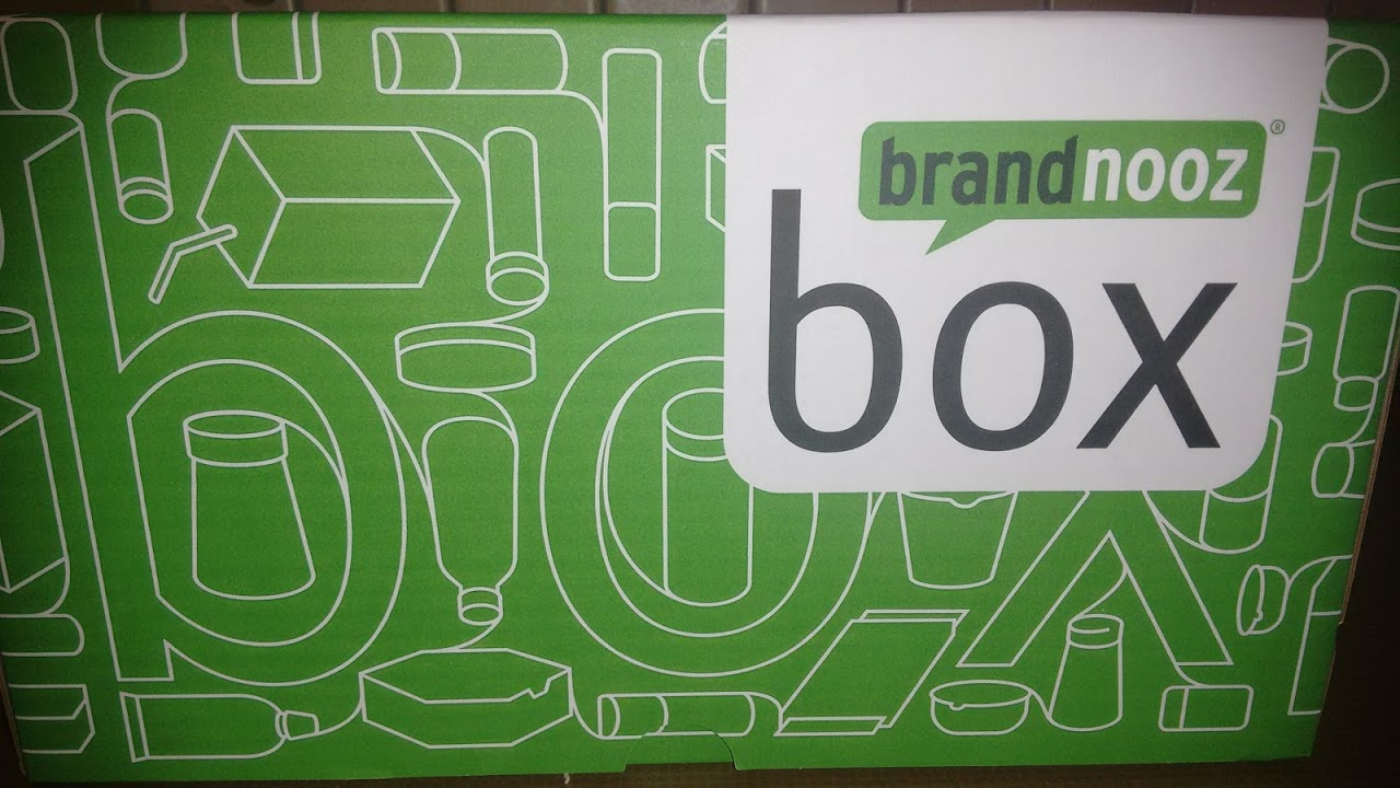 Brandnooz Oktoberbox