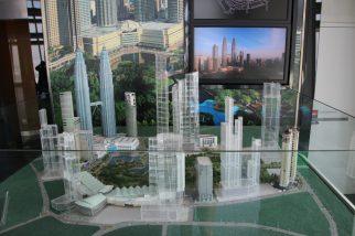 Petronas Towers Miniatur