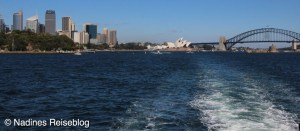 Sydney Opera House und Harbour Bridge