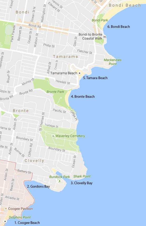 Coogee-to-Bondi-Beach-Walk-Map