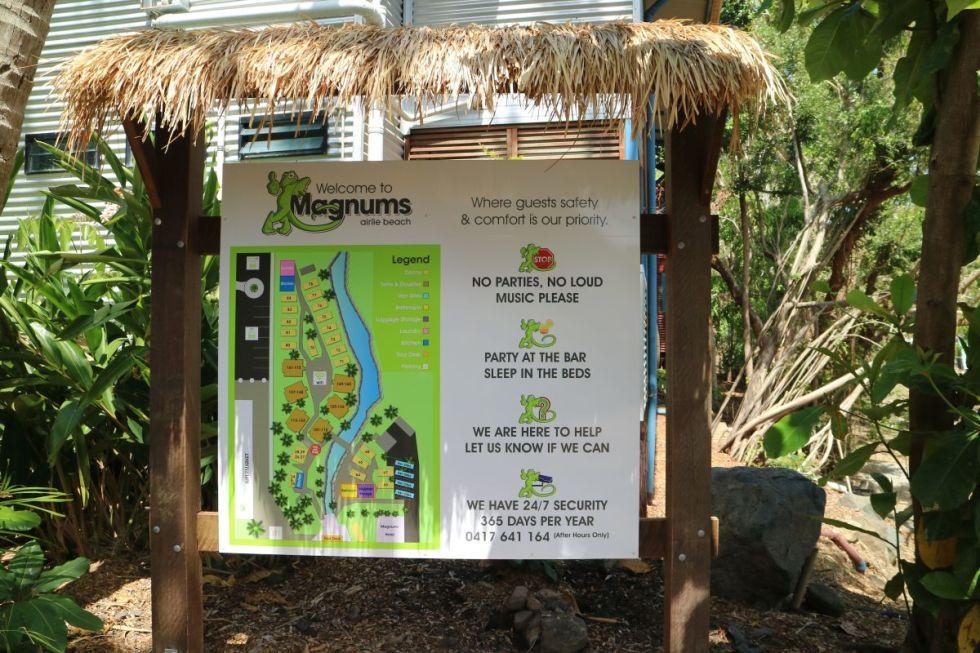 Lageplan des Magnums