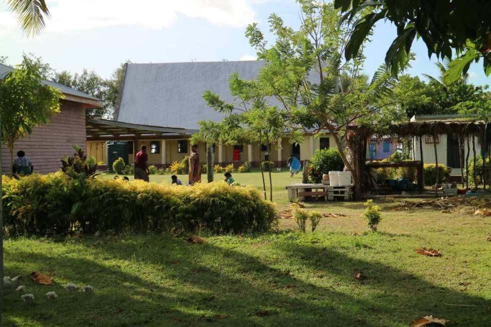 Marketplace of Nacula Village, fiji