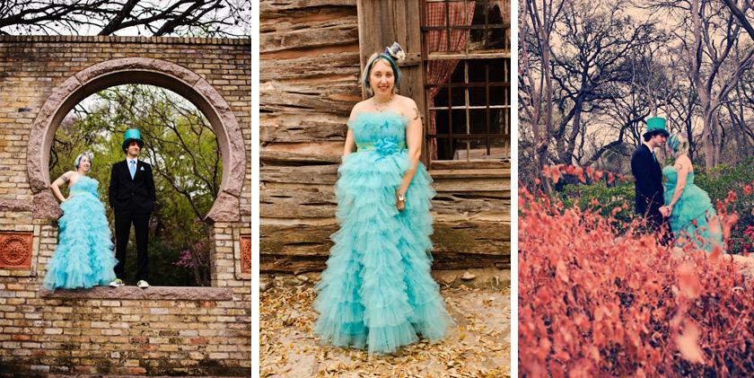 Zilker Botanical Gardens Alice In Wonderland Austin Engagement Photographer 187 Austin Wedding