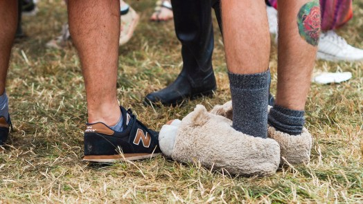 glastonbury festival nadine wilmanns festival attitude photography
