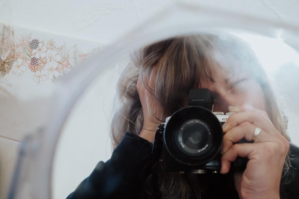 about mein the mirror selfie Nadine Wilmanns photography