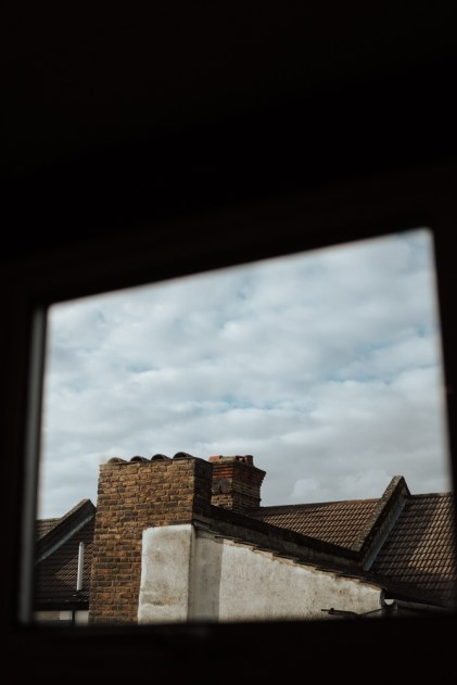 self-assignments, Window view English houses