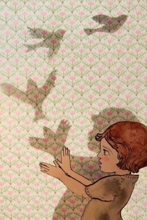 Ilustración vía Pinterest Gina Tillery