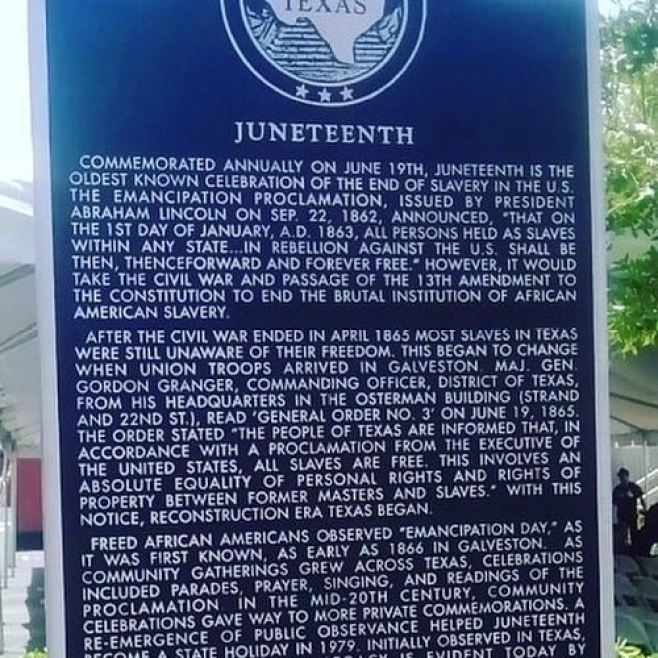 Happy Juneteenth!!