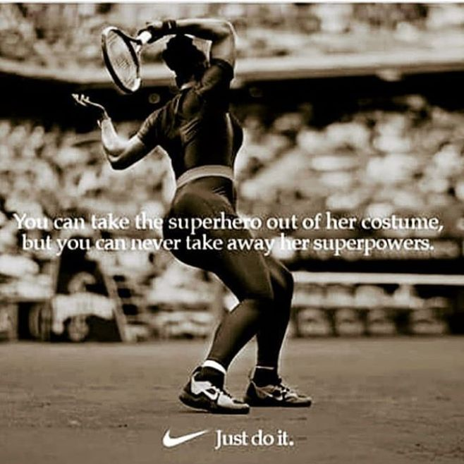 Y'all can't stop Serena. Stop trying.