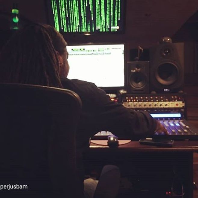 A view from the control center at #ekobasemedia with @rapperjusbam last week. #livingthedream repost via @rapperjusbam A Mastermind at work. @nadiromowale  is making my dream come true. The architect #loveislife #iconglobal #producer@iconproaudio #qconprog2 #qconexg2. #iconumix1010 #icondt8amonitors @fluid_audio @mixwarellc