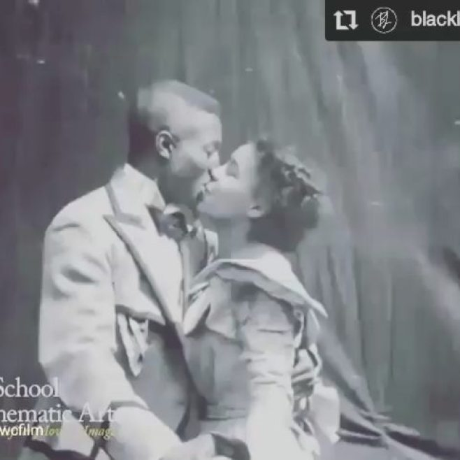 So much JOY & LOVE!! repost from @dwcfilm #Repost @blacklovedoc• • •We're not crying you are We stumbled across this on Twitter and haven't been able to stop watching it ever since️ Film scholars restored this 1898 silent-film titled, Something Good-Negro Kiss, and it is thought to be the earliest depiction of #BlackLove. And YES the music you hear is from another #BlackLove gem, @bandrybarry's #BealeStreet❣Such a beautiful reminder of why we do what we do🏾 : @kyalbr #blacklove #thisisblacklove #getthisblacklove #vintage #somethinggoodnegro #nationalfilmregistry #history #blackhistory