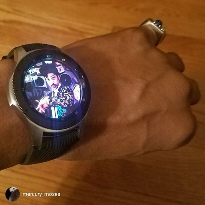 WHAT TIME IS IT?!! repost from @mercury_moses The Morris the merrier. White gold sapphire pinky. Wear your heroes on your sleeve. #MorrisDay #TheTime #Original7ven