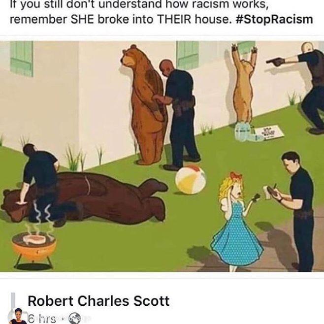 Yep.repost from @raymondwdesign #yep #facts #inequitykills #racism