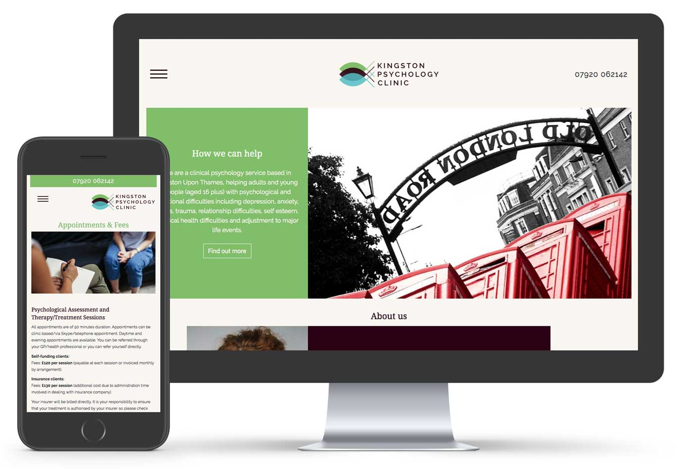 Website Design Projects for Kingston upon Thames businesses