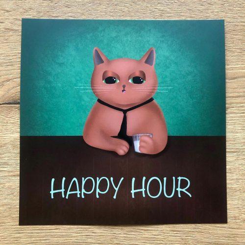 Happy Hour - digitale art print