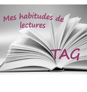 TAG – Mes habitudes de lecture