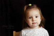 Toddler portrait indoors