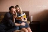 Домашняя фотосессия в Риге. Беременность. Семейный фотограф Надя Рубина.