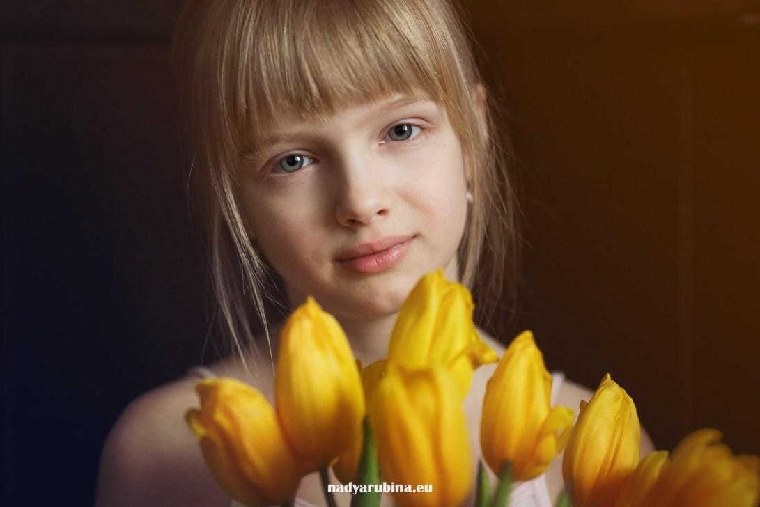 Цветение тюльпанов в Риге