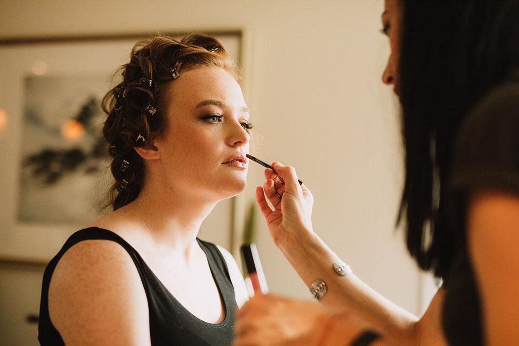Montreal top Makeup Artist NADY brides