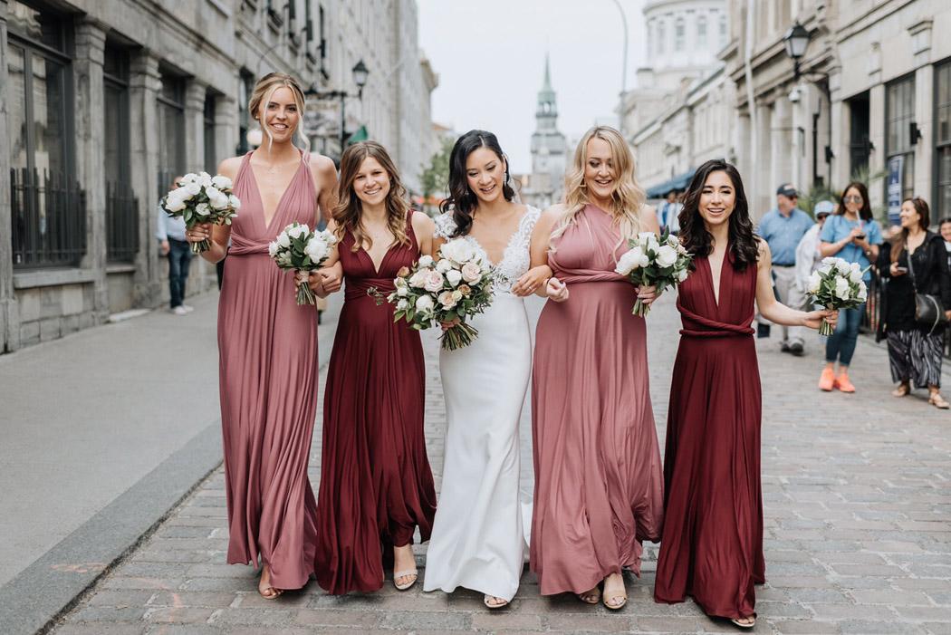 bridesmaids makeup Montreal 2020 wedding booking