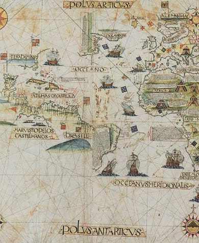 Aus welchen Gründen Magellan 1519 zu seiner Reise aufbrach. Und aus welchen nicht.