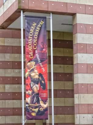 Gladiatoren. Tod und Triumph im COLOSSEVM: Sonderausstellung im Archäologischen Museum Frankfurt.