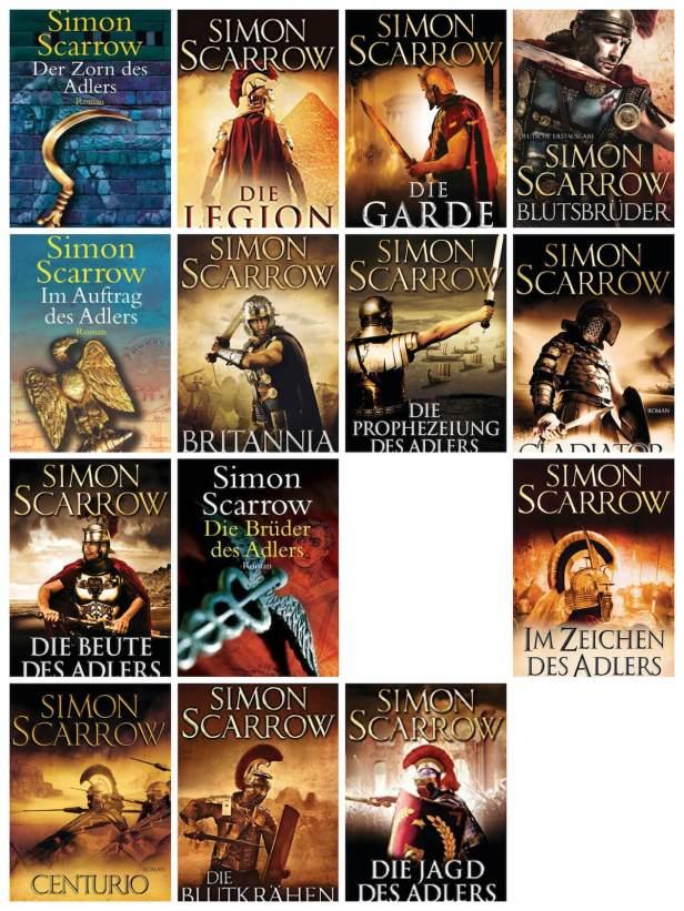 Die Adler-Serie von Simon Scarrow