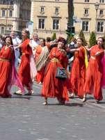 Tänzerinnen der Associazione Danze Antiche
