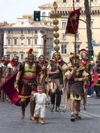 Die Legio 1 Italica folgt dem jungen Caligula