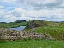 In diesem Streckenabschnitt liegt mit 345 Metern Höhe über dem Meeresspiegel der höchste Punkt entlang des Weges am Hadrianswall.