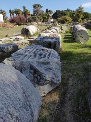 Geschäfte, Politik, Religion: Die Agora, der antike Markt- und Versammlungsplatz in Kos