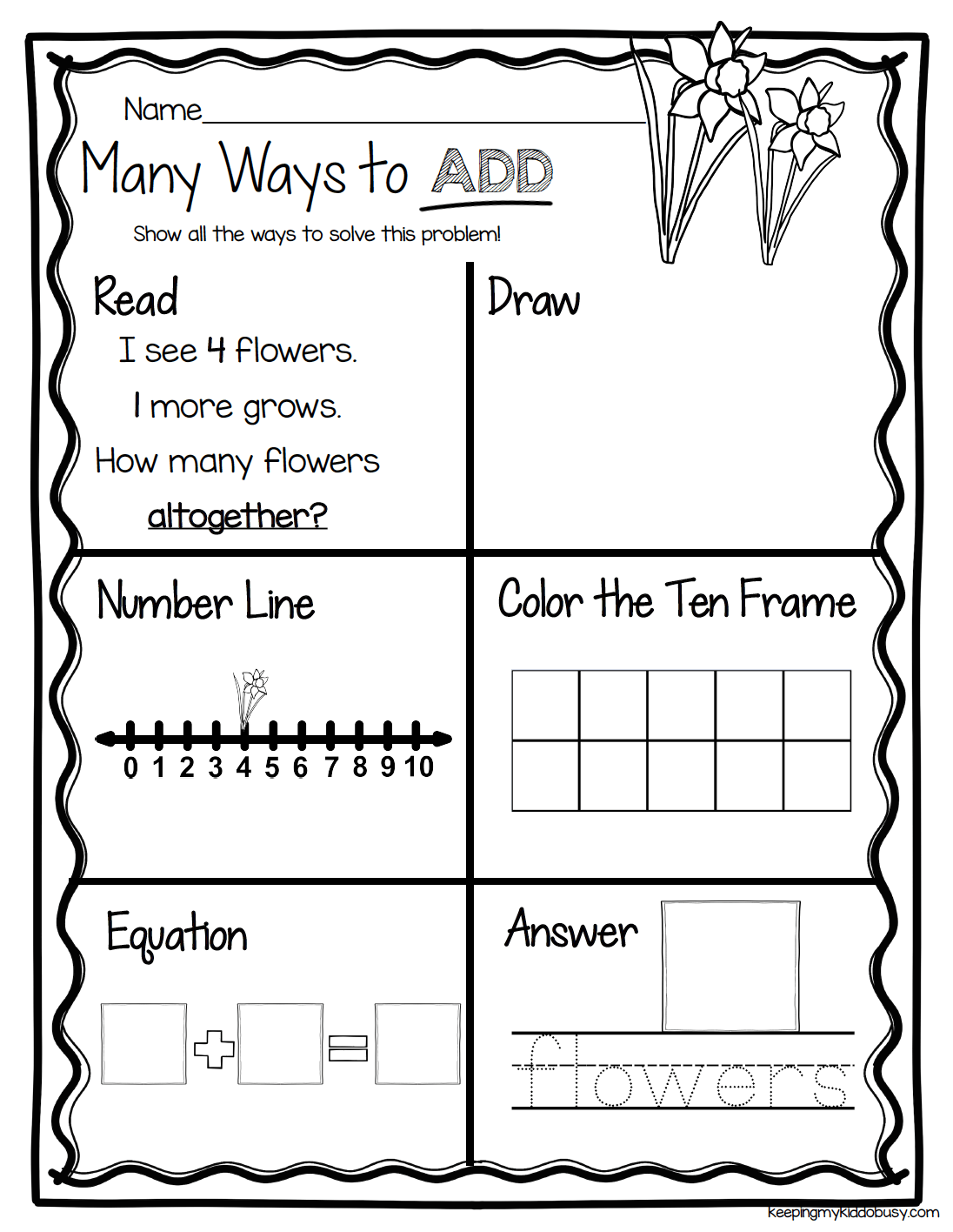 13 Best Tens And Ones Worksheets For Kindergarten Images