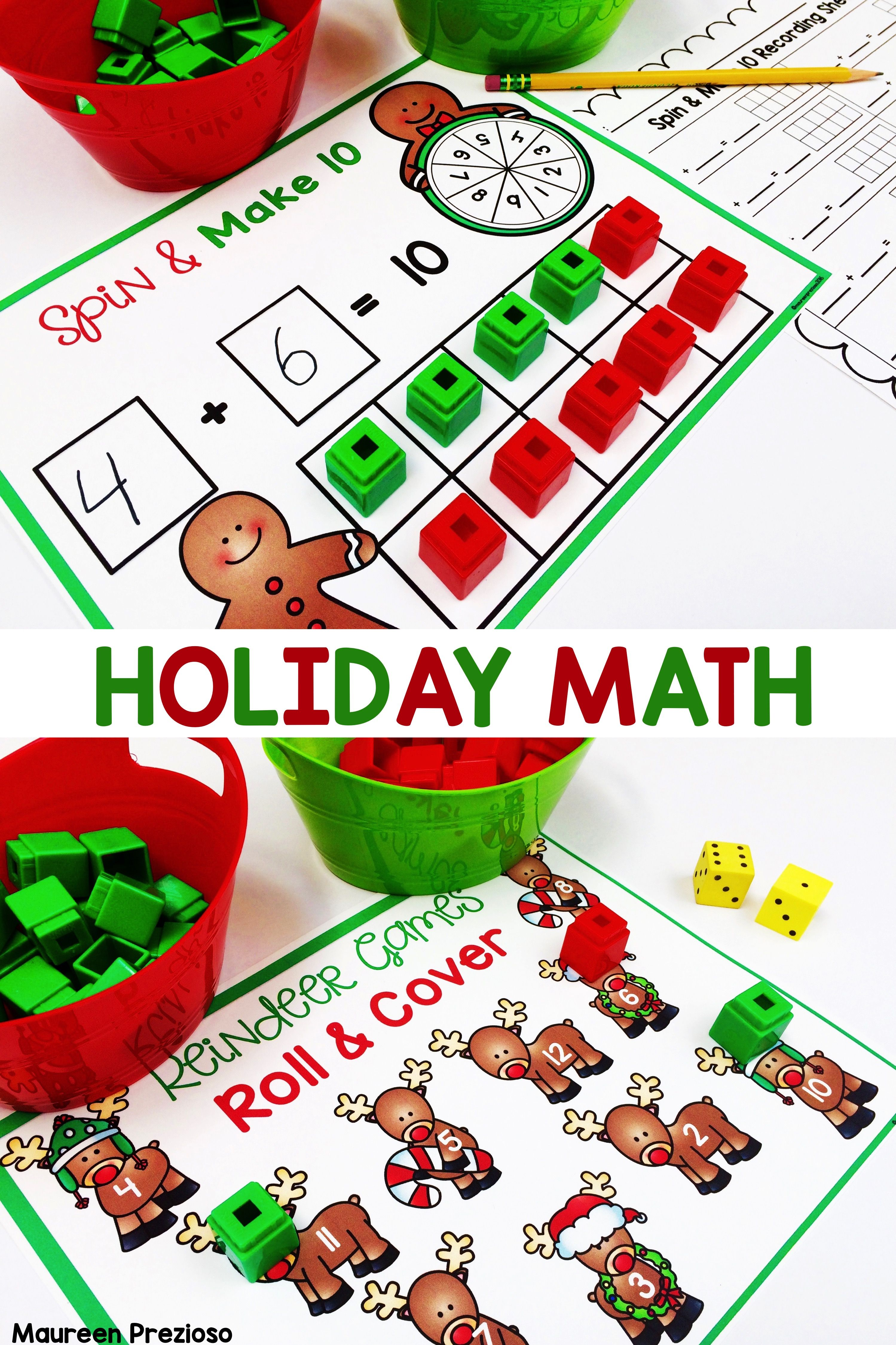 25 Best Engaging Math Centers For Kindergarten Images On