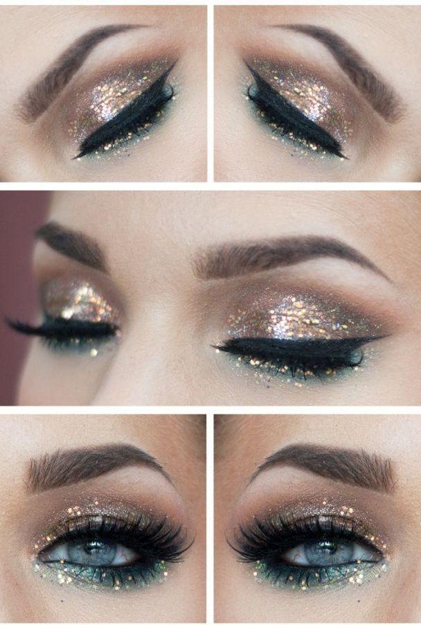 Glitter-Eye-Makeup-for-Fall-2014