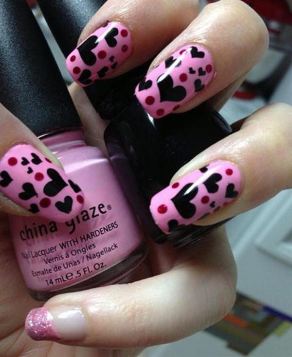 Valentine-nail-heart-design-2