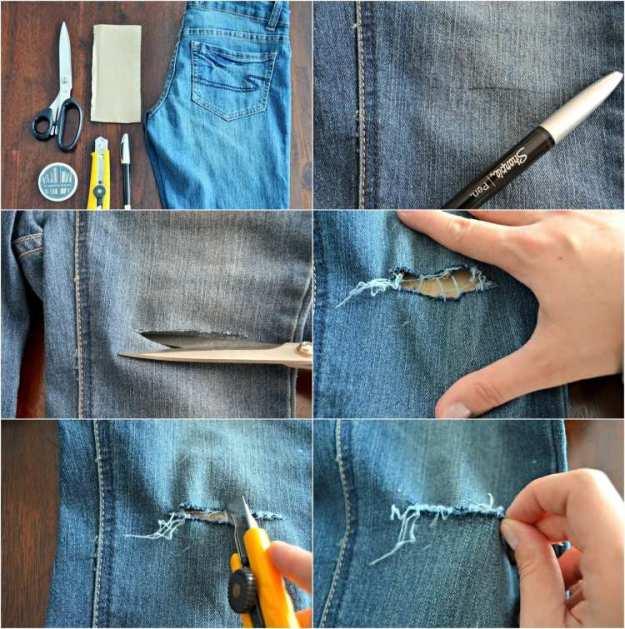 jeans-cutter