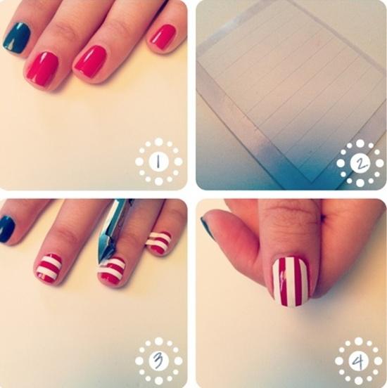 short-nail-art