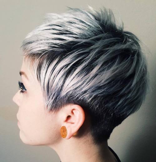 10-short-black-pixie-with-ash-blonde-balayage