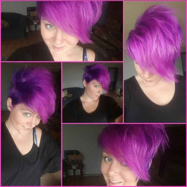 Purple-Lowlights