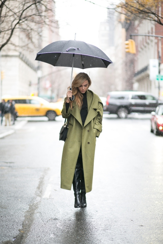 Rainy Day Outfit 41