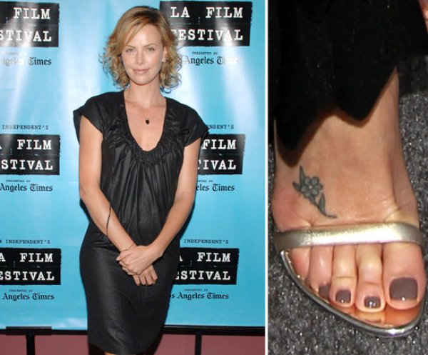 Charlize-Theron-sports-small-flower-top-her-right-foot