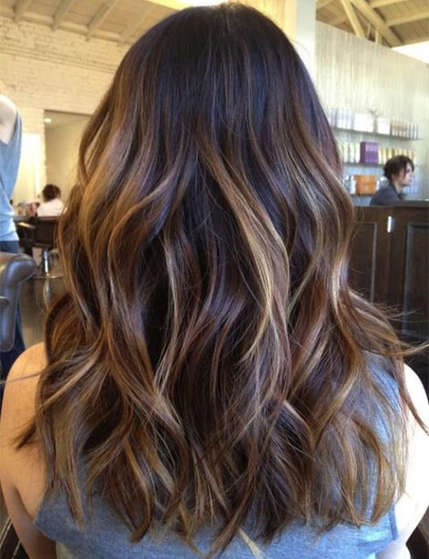 Окрашивание-балаяж-на-темные-волосы-5