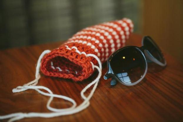 Drawstring-γυαλιά ηλίου - υπόθεση-Crocent-Pattern