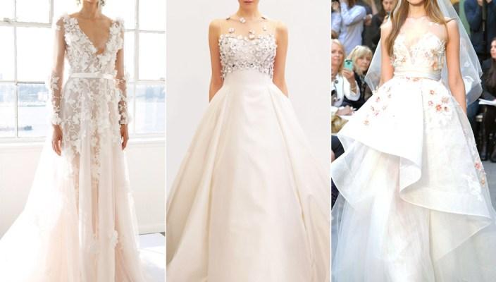 Свадебные платья 2017 - модные тенденции