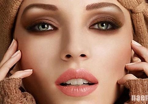 макияж в коричневых тонах